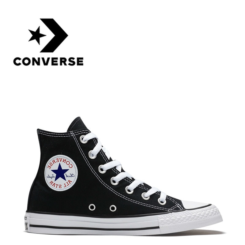 Converse All Star Skateboarding Shoes for Men Original Classic Unisex Canvas  High Top Sneaksers Sports Outdoor 3046a2b70f42