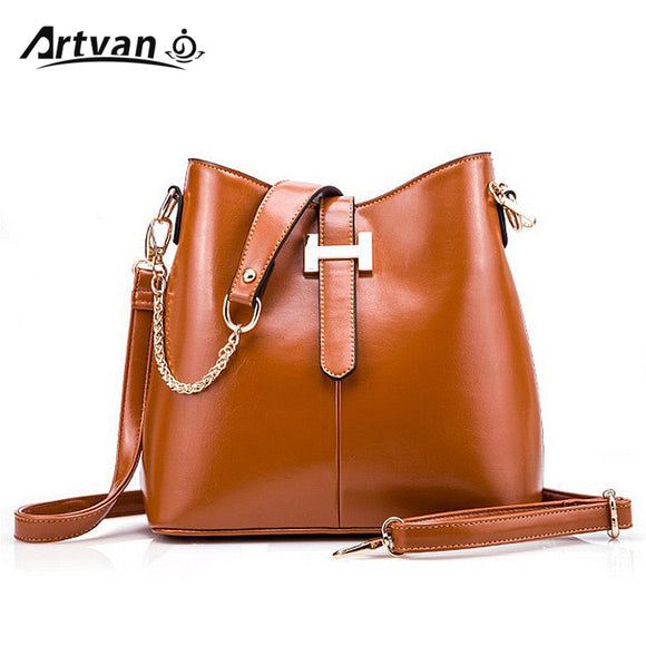 2015 New Arrive Bucket Bags Composite Genuine Leather Handbags Famous Brand Design Women Messenger Bags Fashion Women Bags MM21