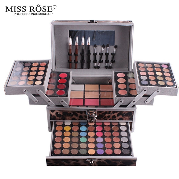 Professional Makeup Kit sets Eyeshadow Blushers Cosmetic Case Full Pro Makeup Palette eyeshadow highlighter eyebrow Blushers-Makeup-Zodeys-1-Zodeys