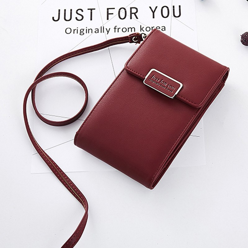 EYES IN LOVE Brand Small Women Shoulder Bag Soft Leather Ladies Mini  Crossbody Cell Phone Pocket fe7234f79f3e