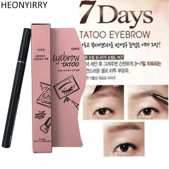 2018 New Eyebrow Enhancers Waterproof Pencil Women Makeup Product Brown 7 Days Eye Brow Eyebrow Tattoo Pen Liner Makeup Tools-Makeup-Zodeys-1 Type2-Zodeys