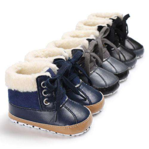 392808016be7 0-18M Newborn Toddler Shoes Infant Kid Baby Boys Winter Ankle Warm Snow Boots  Soft