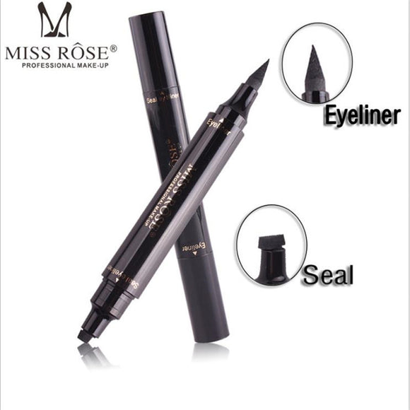 Charming Cat Eye Winged Eyeliner Sexy Eye Cosmetic Seal Stamp Wing Double Head Waterproof Eyeliner Pen Tool