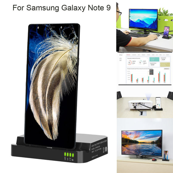 HDMI Dex Station Desktop Extension Charging Dock For Samsung Galaxy Note 9