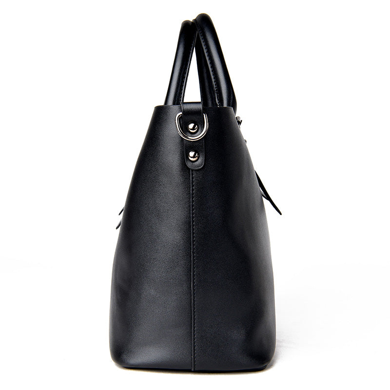 fe2b44a1aa ... Bolso Mujer Negro 2018 Fashion Hobos Women Bag Ladies Brand Leather Handbags  Spring Casual Tote Bag ...
