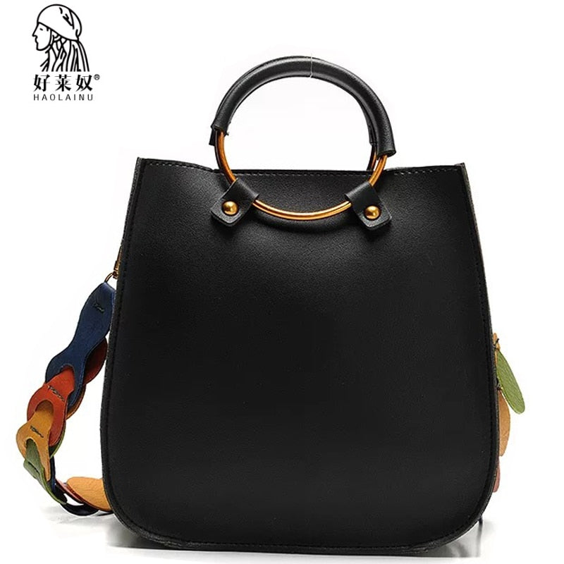 bc2fc014348a 2107 Vintage Casual Leather Handbags High Quality bag ladies Purses Clutch Bag  Women Messenger Shoulder Crossbody