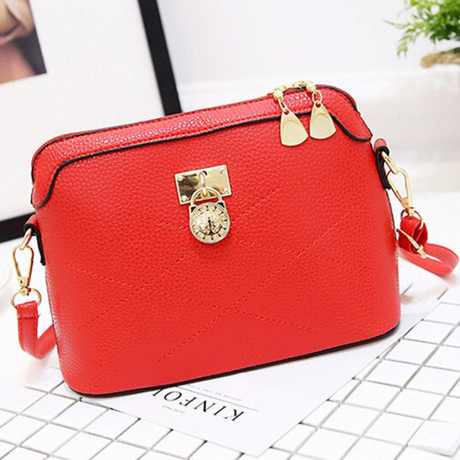 lady Bag Soft Leather Messenger Bag Handbags Crossbody Ladies Shoulder bags  for women pink red bags ... 12f4e3f82a