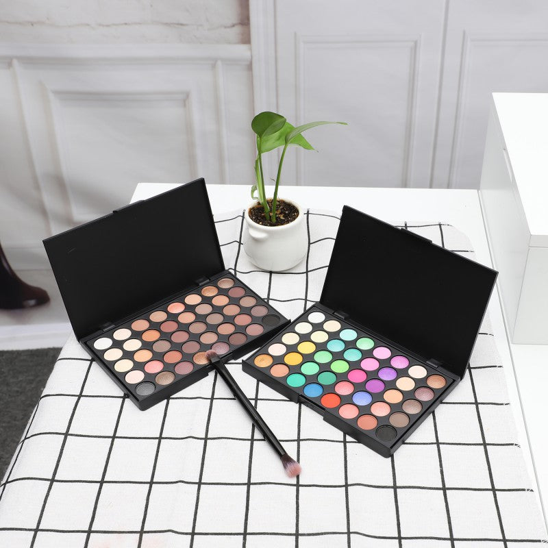 40 Color Matte Eyeshadow Pallete Make Up Earth Palette EyeShadow Makeup  Glitter Easy to Wear Makeup 4a1653a67a