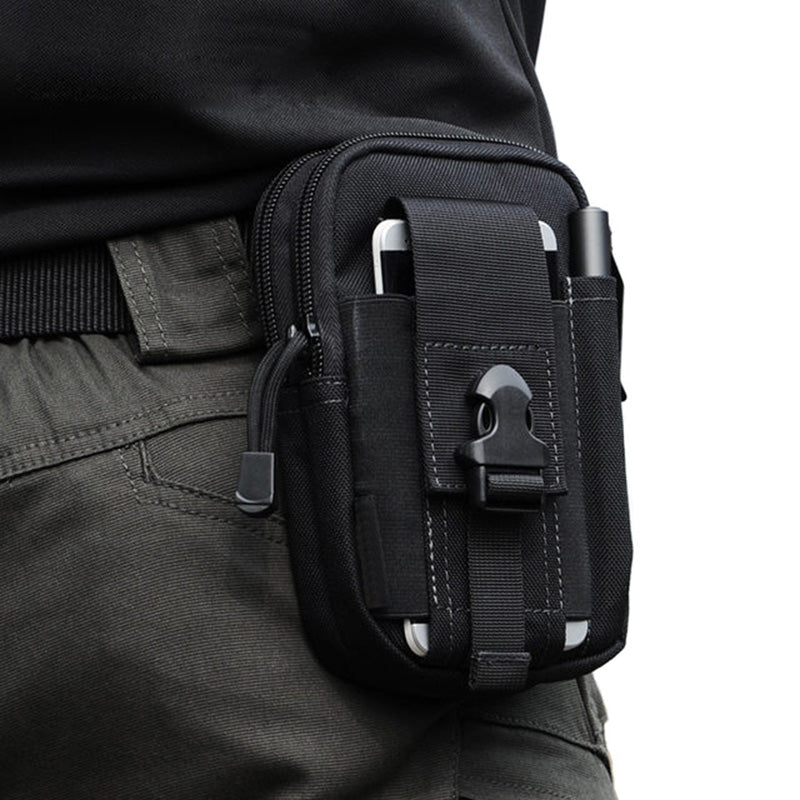 67274682724 CellDeal Fashion Canvas Waist Pack Men s Casual Molle Waist Pack Purse 600D  Waterproof Nylon Belt Zipper