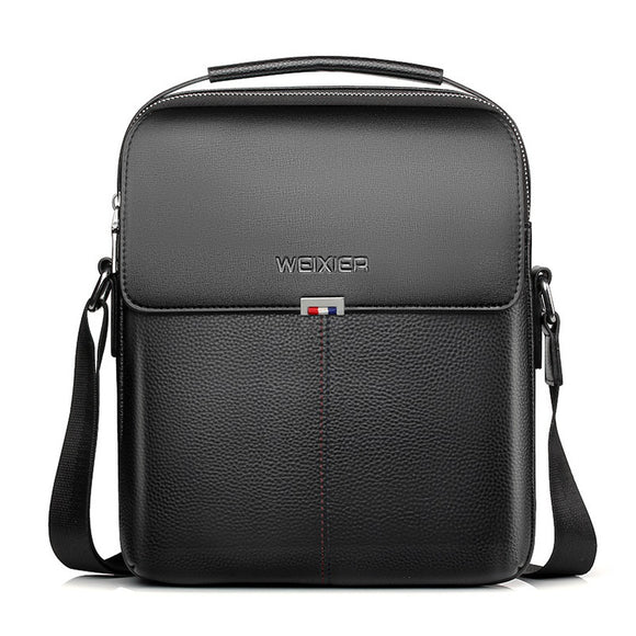Luxury Brand Leather Men Crossbody Bags For IPAD Male Handbag Fashion Shoulder PU Leather Man Messenger Bag Business Work Bag