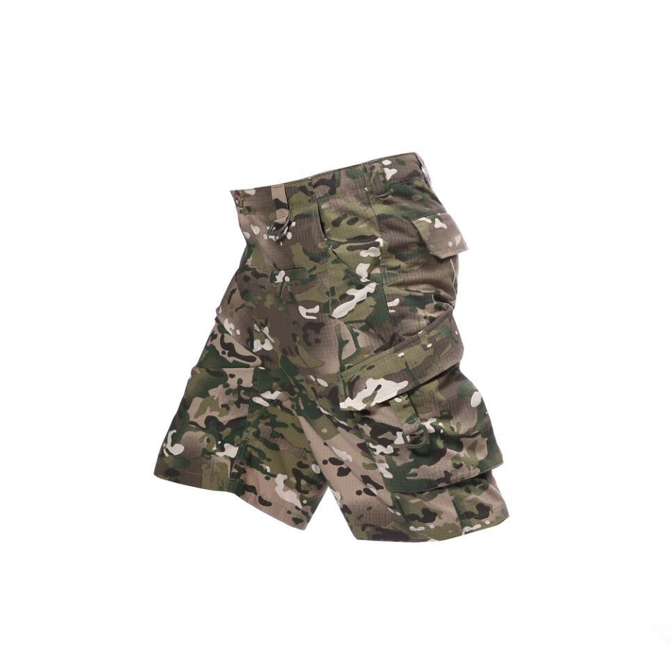 36c1180c00 Mens Casual Pants Camo Shorts Army Camouflage Military Combat Cargo Cotton Short  Shorts