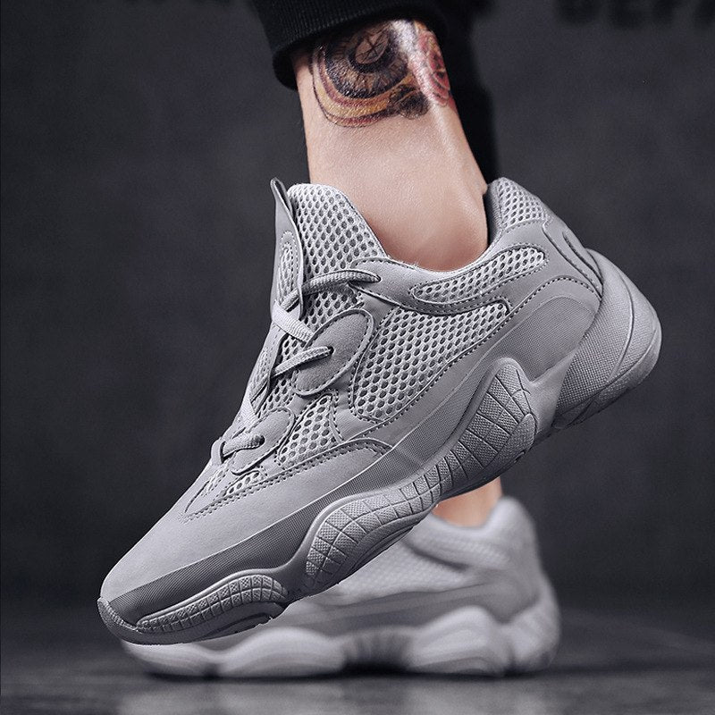 a5c6c8a7d Vintage dad sneakers 2018 kanye fashion west mesh light breathable men  casual shoes men sneakers zapatos