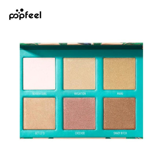 Babe in Paradise Highlighter Palette Base Glitter & Shimmer Powder Palette for Eyes Women Makeup Shine Cosmetics Eyeliner