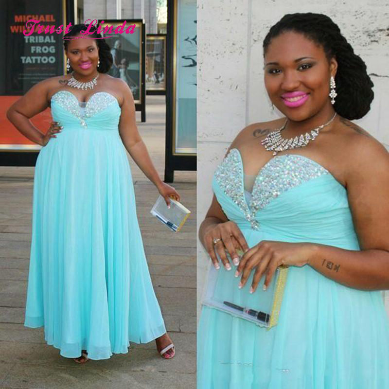 Turquoise Bridesmaid Dresses Plus Size Off The Shoulder A Line Chiffon  Beading Pageant Dresses For Women 60e36c28b8c1