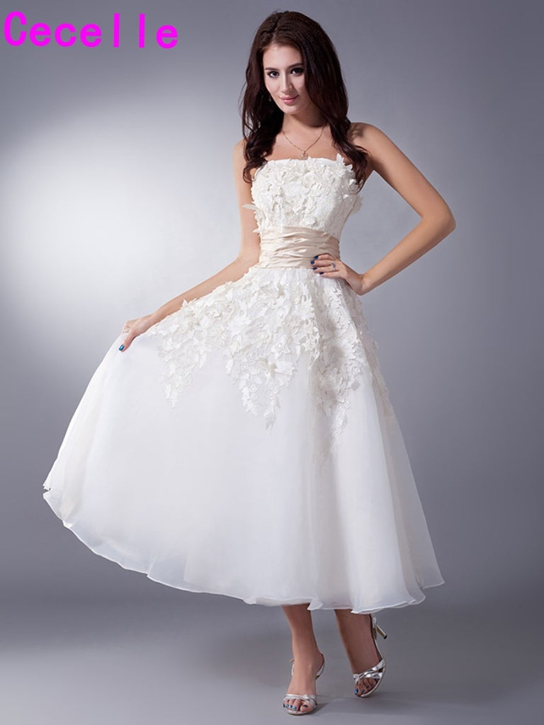 Wedding Dresses with Color Short