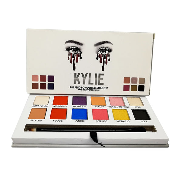 Kilie Palette KYLIE Eyeshadow Pallete Glitter Makeup Matte Eye Shadow Long-lasting Palette kyliejenner Makeup Eye Cosmetics
