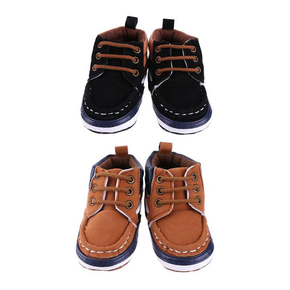 Newborn Baby Sports Shoes Infants Boots Girls Boys Soft Sole Anti-slip Faux Leather Toddler Footwear Cute Baby Boots Kids Shoes