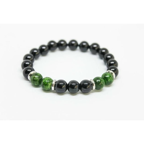 Fashion Simple Stone Beads Charm Bracelets For Men