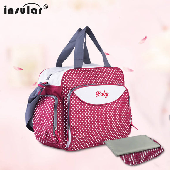 Diaper Bag For Mother Nappy Bag Durable Baby Bags For Stroller Mommy Changing Bag