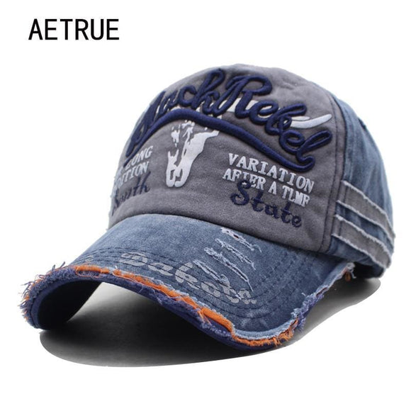 Aetrue Men Baseball Caps Dad Casquette Women Snapback Caps Bone Hats For Men Fashion Vintage Hat Gorras Letter Cotton Cap Aetrue Official