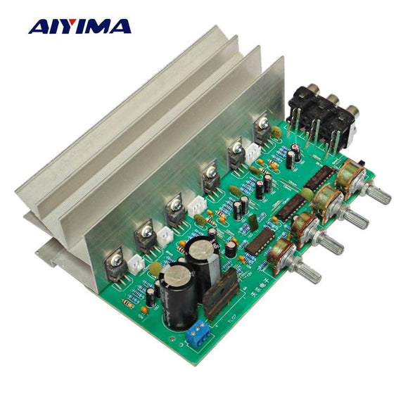 Aiyima LM1875 5.1 Channel Audio Amplifier Board Subwoofer Amplifiers DIY Sound System Speaker Home Theater 25W*6 Super TDA2030-Zodeys-Zodeys