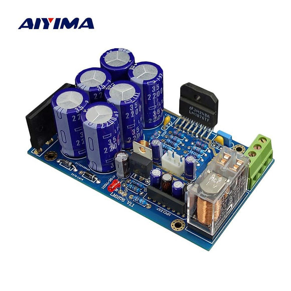 Aiyima LM1876 Audio Amplifier Kits 30W*2 HiFi Dual Channel Stereo Power Amplificador Diy Kit Sound System Speaker Home Theater-Zodeys-Zodeys