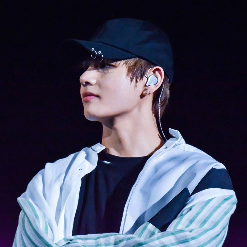 BTS V JUNGKOOK The Same Cap ARMY Kpop LIVE THE WINGS TOUR Cap Dad Iron Ring 34740ba0e592
