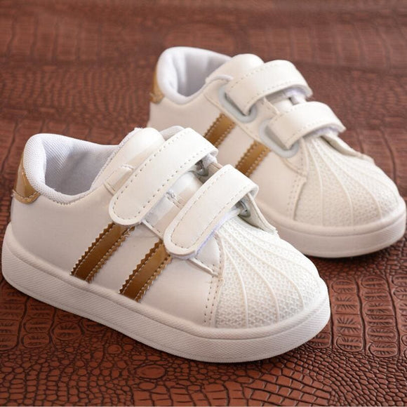 Children Shoes Girls Boys Sport Shoes Antislip Soft Bottom Kids Baby Sneaker Casual Flat Sneakers White Shoes Size 21-30 Shop3606007 Store
