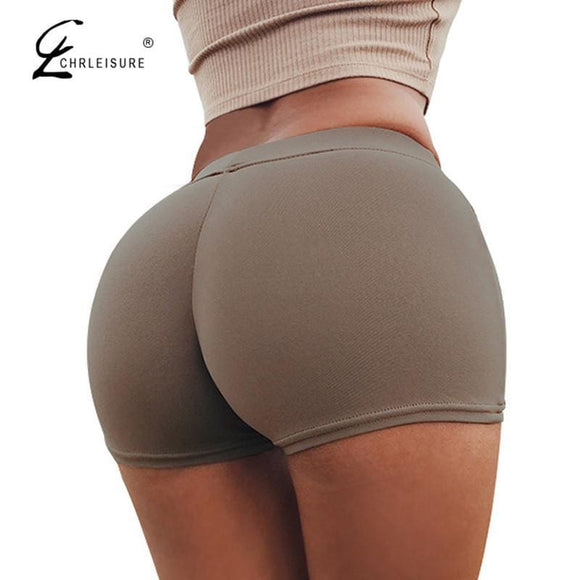 Chrleisure Candy Colors Shorts Women Sexy Push Up Cotton Short Feminino Workout Shorts Feminino S-L 11 Colors Apparel & Accessories >