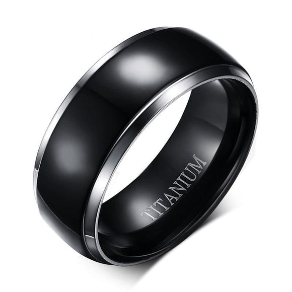Classic Titanium Wedding Ring Jewelry & Accessories > Rings