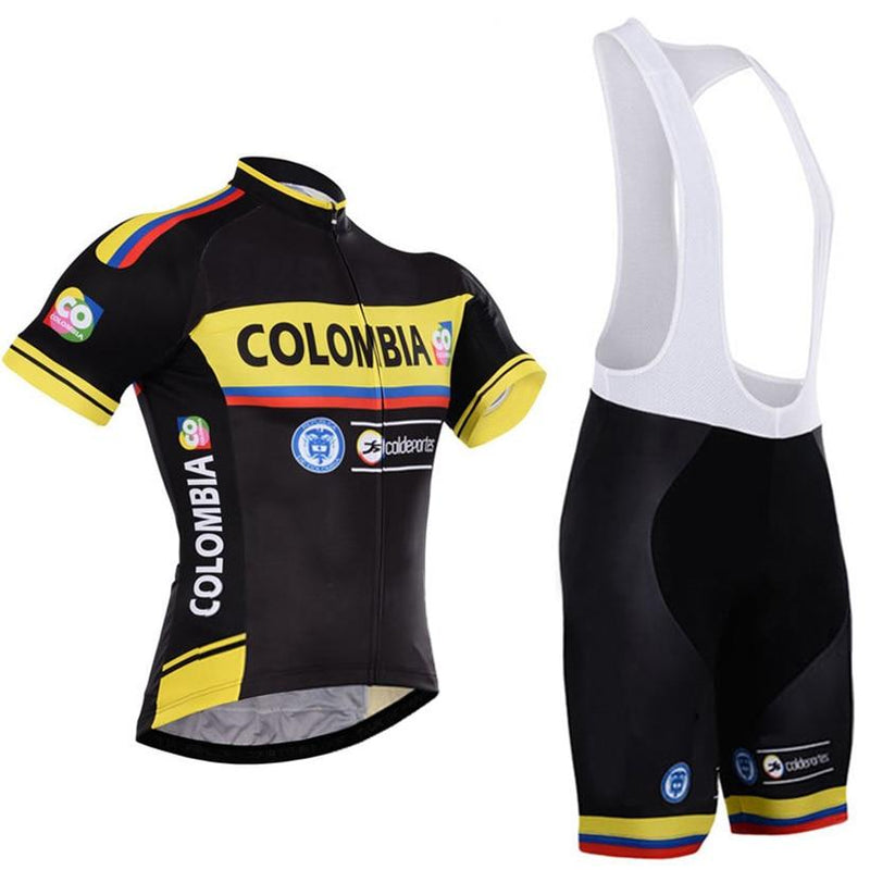 Colombia Cycling Jersey mountain Bike Wear clothing Short Sets MTB Ropa  Ciclismo Bicicletas Uniform Maillot Culotte fe66444c8