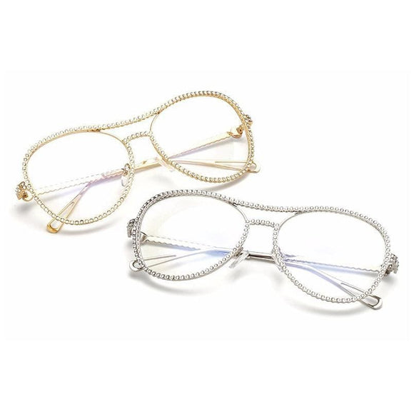 Diamond Frame Eyeglasses