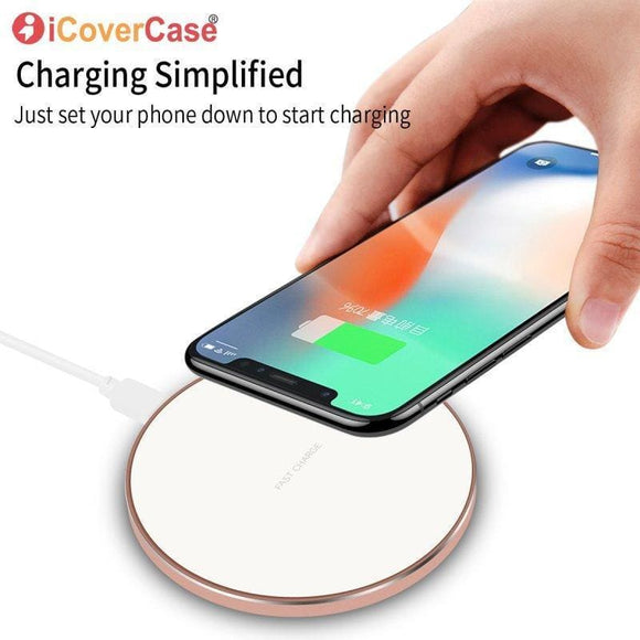For Iphone X Xs Xr Fast Charge Wireless Charger Qi Charging Adapter Dock Cover Case For Apple Iphone Xs Max 8 Plus Accessory Zhixin Tech