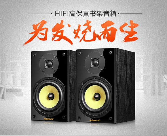 HIFI sound Amplifier quality Middle bass 6.5 inch bullet head speaker + 3 inch high voice speaker combination Nobsound NS-2000-Zodeys-black-Zodeys