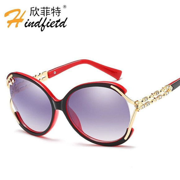 Hindfield Fashion Brand Womens Sunglasses Eyewear Sun Glasses For Women Ladies Oculos De Sol Feminino Gafas De Sol Mujer Apparel &