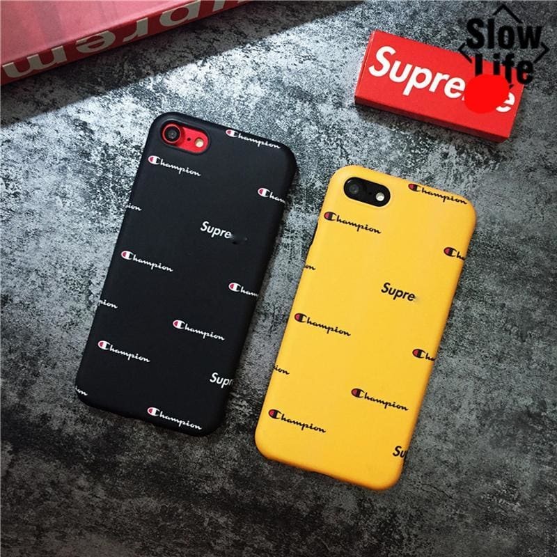 cd511ad9f55b6 Hot Fashion Us Street Style Suprem Champion Soft Dope Fancy Case Phone Cover  For Iphone 6