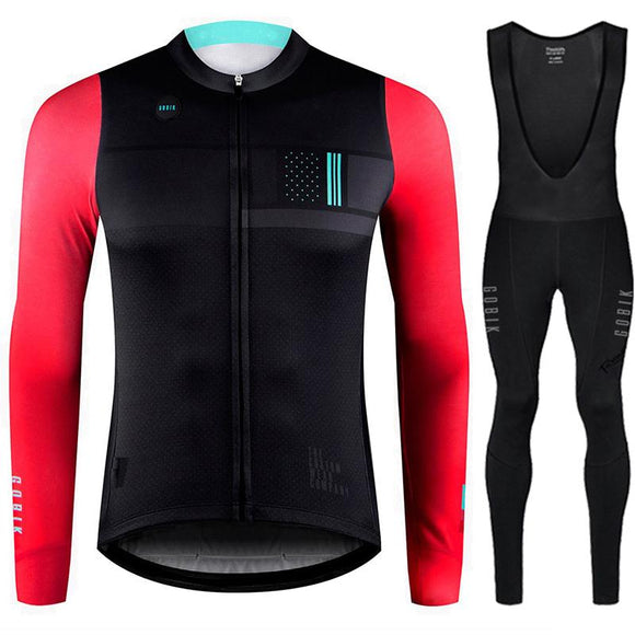 Inverno maillot ciclismo hombre Runchita winter thermal fleece cycling jersey long sleeve wielerkleding heren sets Inverno 2018-Zodeys-Jersey A-3XL-Zodeys
