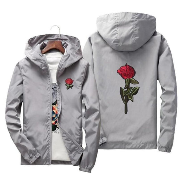 Jacket Windbreaker Men Women Rose College Jackets 8 Clolors Zodeys