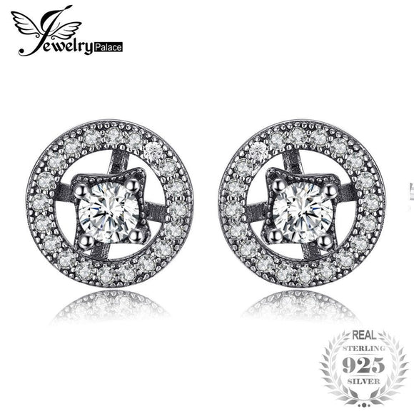 cc37157e5258 Jewelrypalace 925 Sterling Silver Earrings Stud Earrings Enchanted Vintage Jewelry  Women Fashion Gifts For Her Wedding