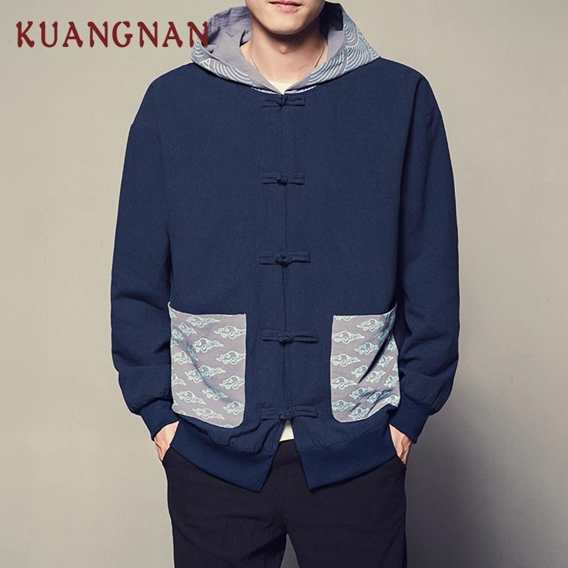 Men S Kuangnan Hooded Casual Jacket Men S Street Style 5xl Bomber Jack