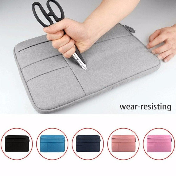 Laptop Bag Case Sleeve Solid Computer Notebook Cover For Macbook For Dell Hp Acer Lenovo 11.6 12 13 14 15 15.6 Inch Waterproof Pc World
