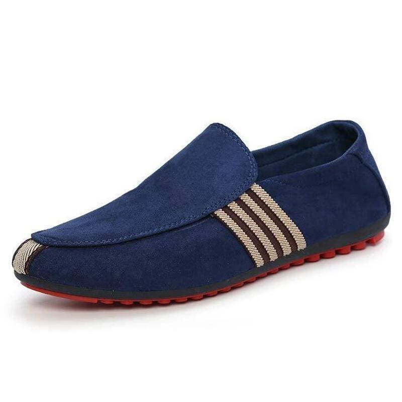 3417676026a Man Shoes Walking Ventilation Casual Male Men Sapato Masculino Red Bottom  Canvas Slip Driving Moccasin Loafers