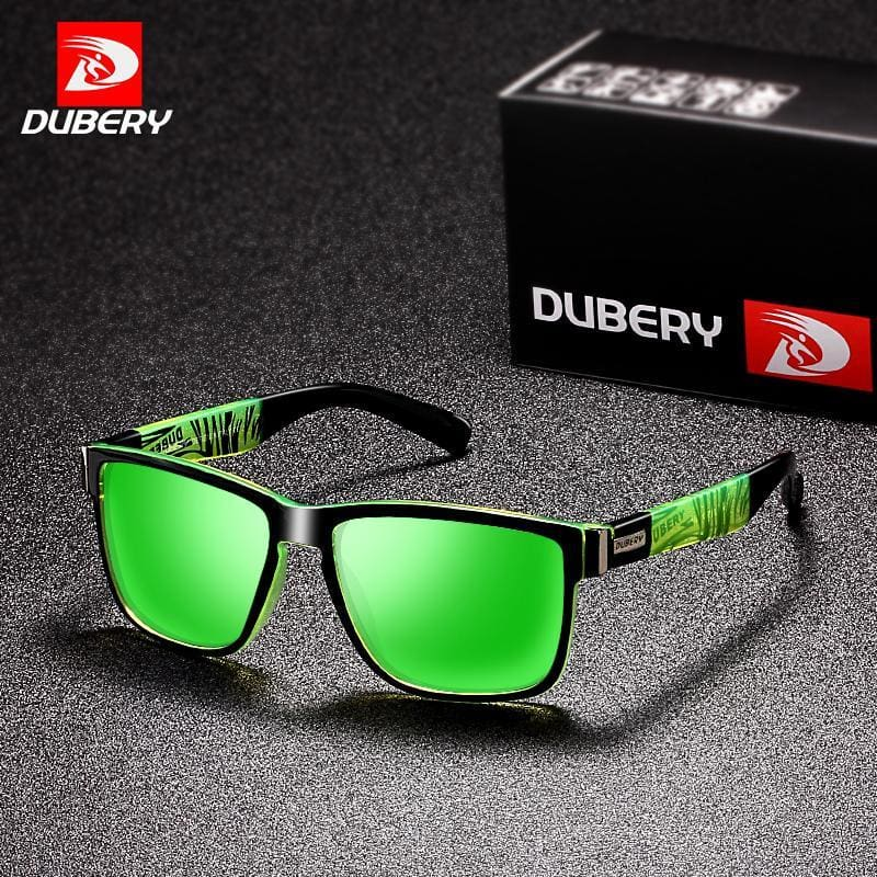 b97f3a58a71 Mens Dubery Sport Sunglasses Polarized For Men Sun Glasses Square Driving  Personality Color Mirror Luxury Brand