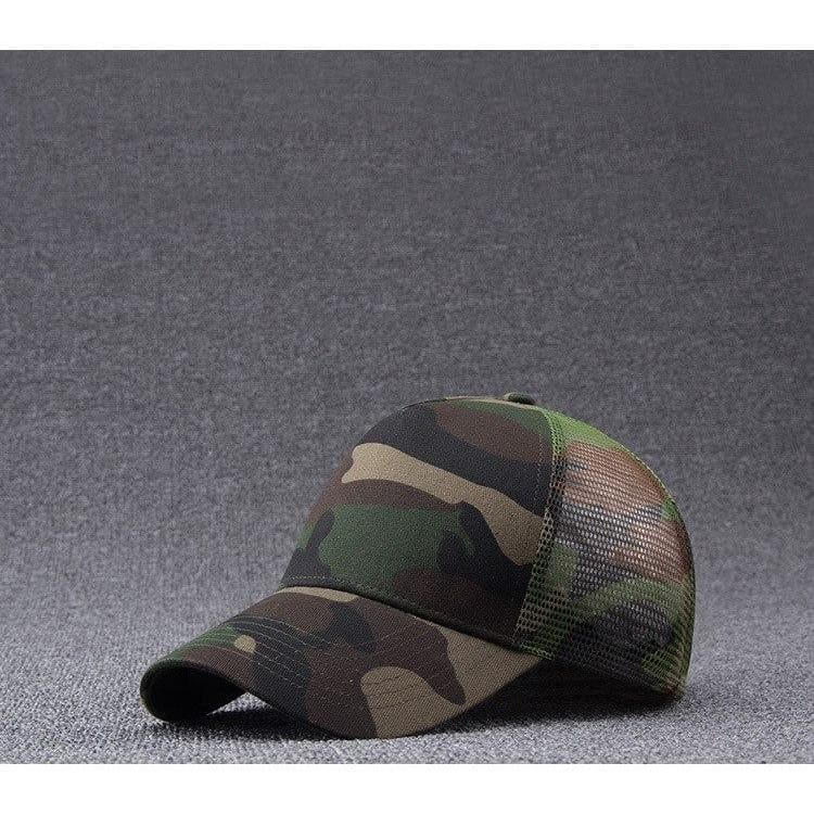 Mens Hats Mens Camo Baseball Caps Mesh For Spring Summer Outdoor