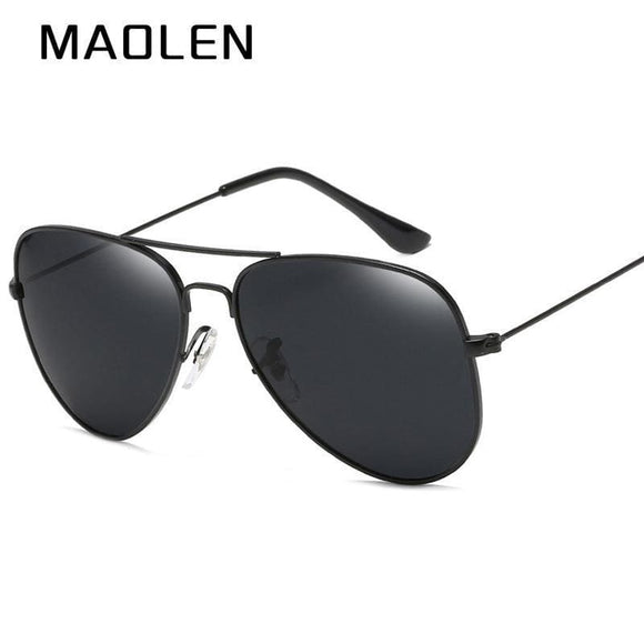 Mens Maolen Pilot Aviator Sunglasses Men Polarized Male Sun Glasses For Man Famous Luxury Brand Designer Sunglasses Oculos Lunette Apparel &
