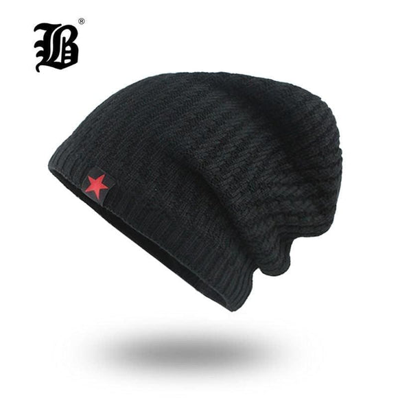 Mens Skullies Winter Hat Beanies Knitted Cotto Hip Hop Stocking Hat Plus Velvet Rasta Cap Star Bonnet Hats For Men F18007 Gray Zodeys