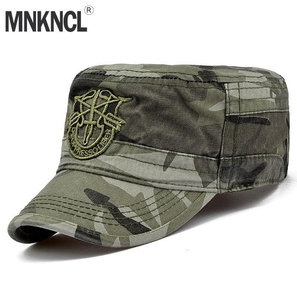 Mnkncl Letter Cap Army Baseball Cap Men Tactical Navy Seal Army Camo Cap Adjustable Visor Sun Hats Zodeys