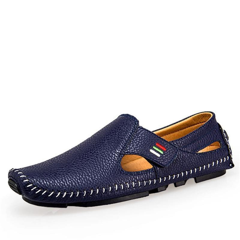 97418b091274a New Fashion Moccasins For Men Loafers Summer Walking Breathable Casual  Shoes Men Hook loop Driving Boats Men