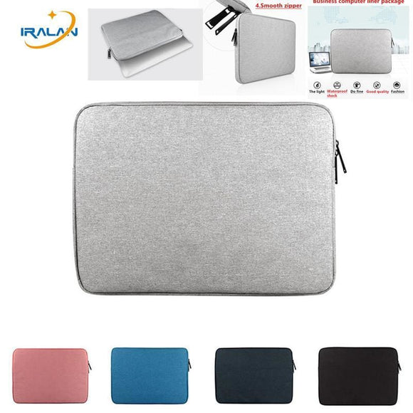 New Laptop Waterproof Bags Sleeve Notebook Case For Lenovo Macbook Air 11 12 13 14 15 15.6 Inch Cover Retina Pro 13.3Zipper Bag 369 Boutique