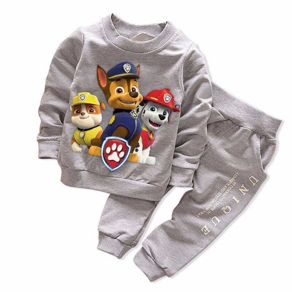 New Spring Autumn Boys Girls Clothing Sets Sport Pullover Set Fashion Kid 2Pic Suits Set Toddler Striped Tracksuit Baby Kids World Store